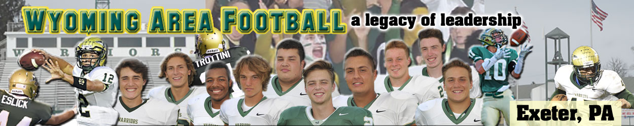 Wyoming Area Football Header